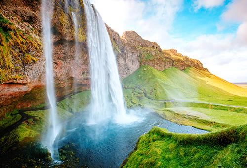 360度欣賞瀑布的每一隅
