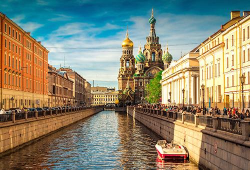 穿梭於俄國的威尼斯-涅瓦河
