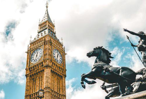 打卡拍照倫敦地標大笨鐘