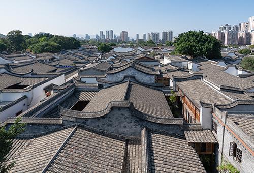 三坊七巷訪明清古建築群