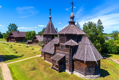 驚嘆百年木造村的精湛技藝