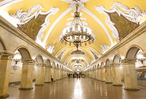 世界最美地鐵 富麗堂皇的地下宮殿