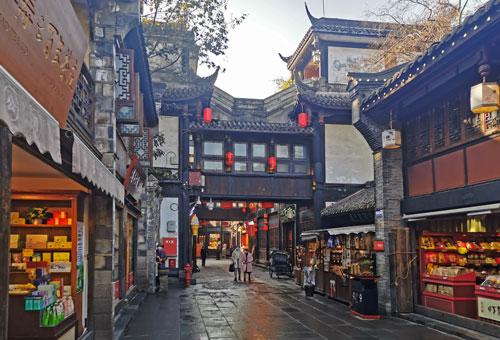 漫遊西蜀第一街-錦里古街