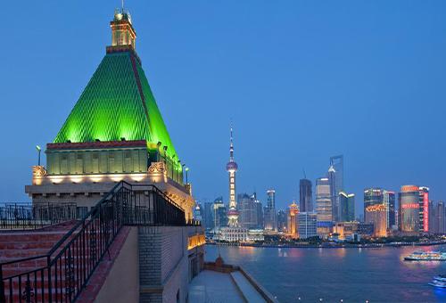 上海和平飯店Fairmont Peace Hotel