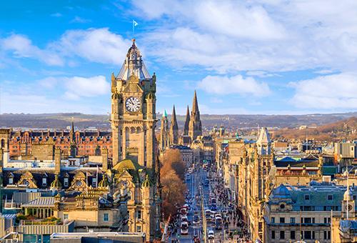 踏上愛丁堡最繁榮街道 - 王子街