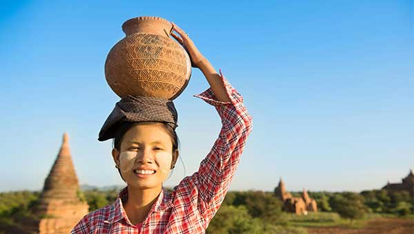 緬甸+伊洛瓦底江河輪下水 曼德勒→蒲甘