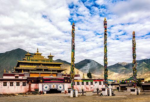 拜訪西藏首座喇嘛寺廟-桑耶寺