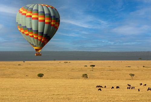 熱氣球遊獵