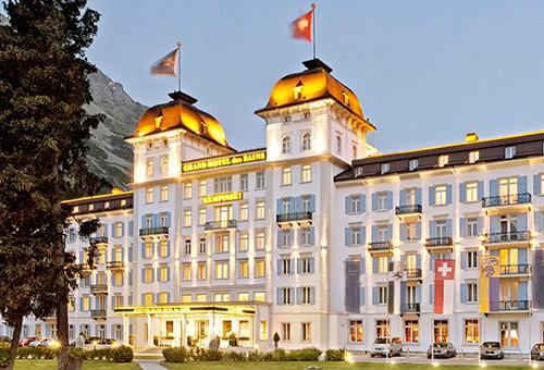 入住聖摩立茲奢華酒店