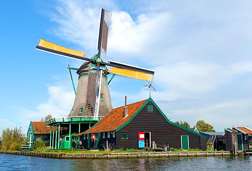 漫步荷蘭經典風車村
