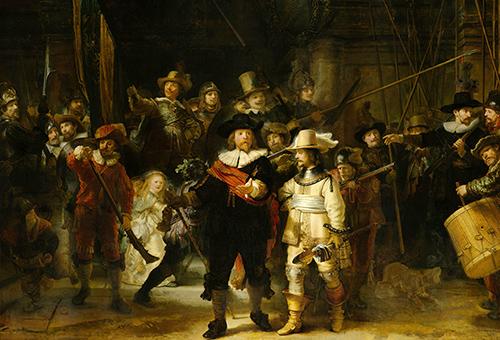 欣賞荷蘭國家博物館藝術巨作