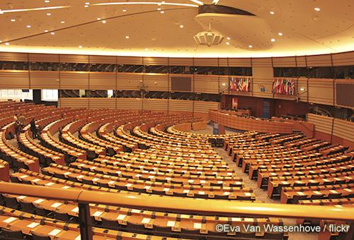 造訪歐盟布魯塞爾總部