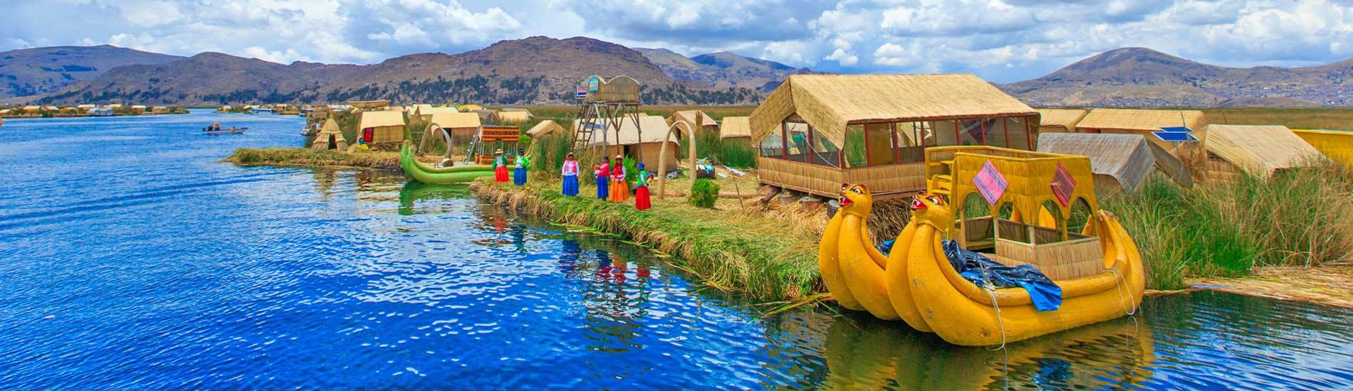 Lake Titicaca Uros Island