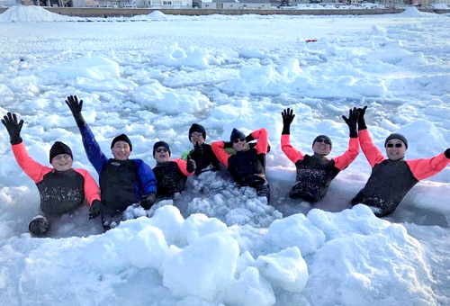 一生難忘的鄂霍次克海流冰體驗