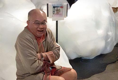 流冰館裡體驗零下的冰凍世界