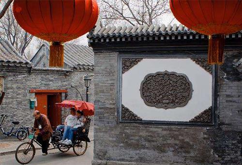 老北京胡同