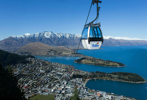 乘天際線纜車一覽城市美景