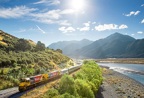 景觀列車讓您沉浸一幕幕動人光景