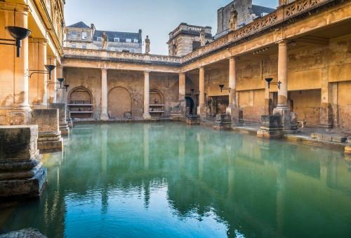 探索羅馬浴場歷史遺跡