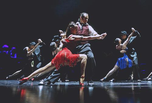 感受阿根廷探戈舞者的熱情澎湃