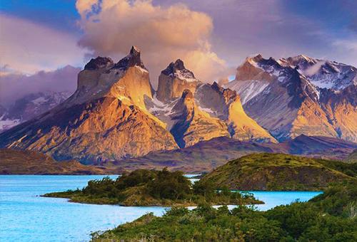 欣賞百內國家公園獨特美景