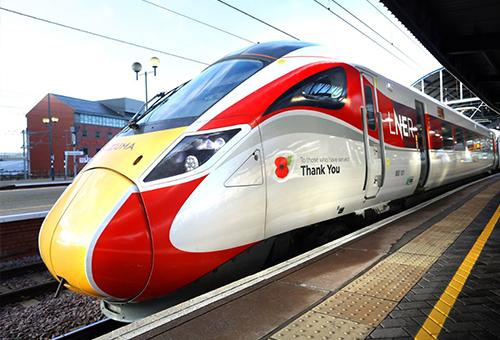 乘坐英國快速列車LNER