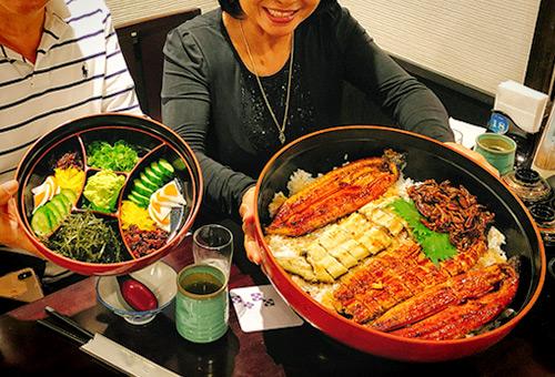 三島必吃巨無霸鰻魚飯~好大!!