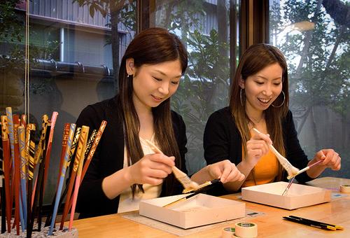 金澤金箔筷子製作體驗